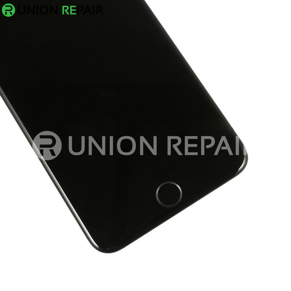 Replacement for iPhone 6S Plus LCD Screen Full Assembly with Black Ring Home Button - Black