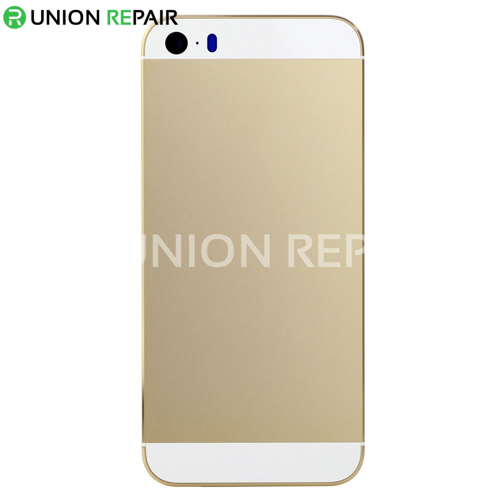 iphone 5s back replacement replacement for iphone 5s back cover gold 14741
