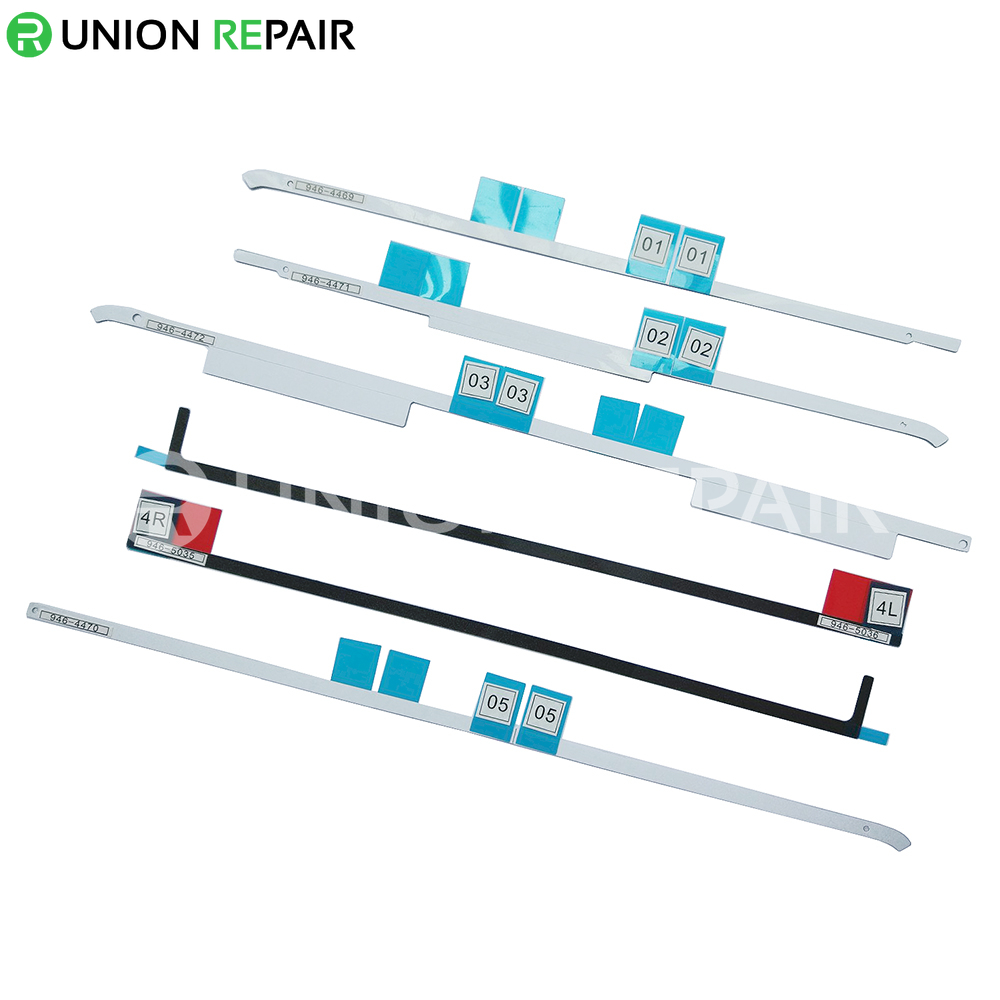 """LCD Display Adhesive Tape Kit with APN for iMac 21.5"""" A1418 (Late 2012, Mid 2017)"""