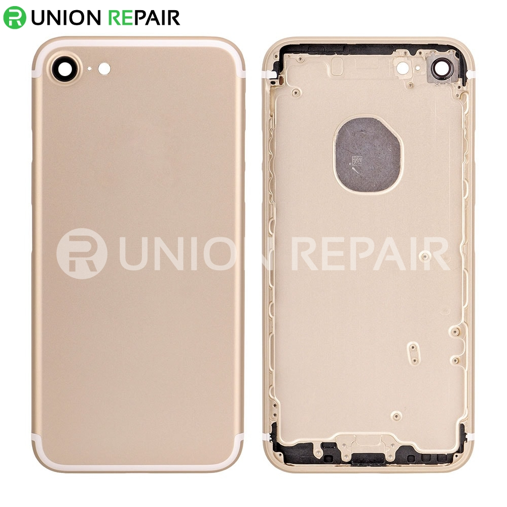 the latest 0b403 bae76 Replacement for iPhone 7 Back Cover - Gold