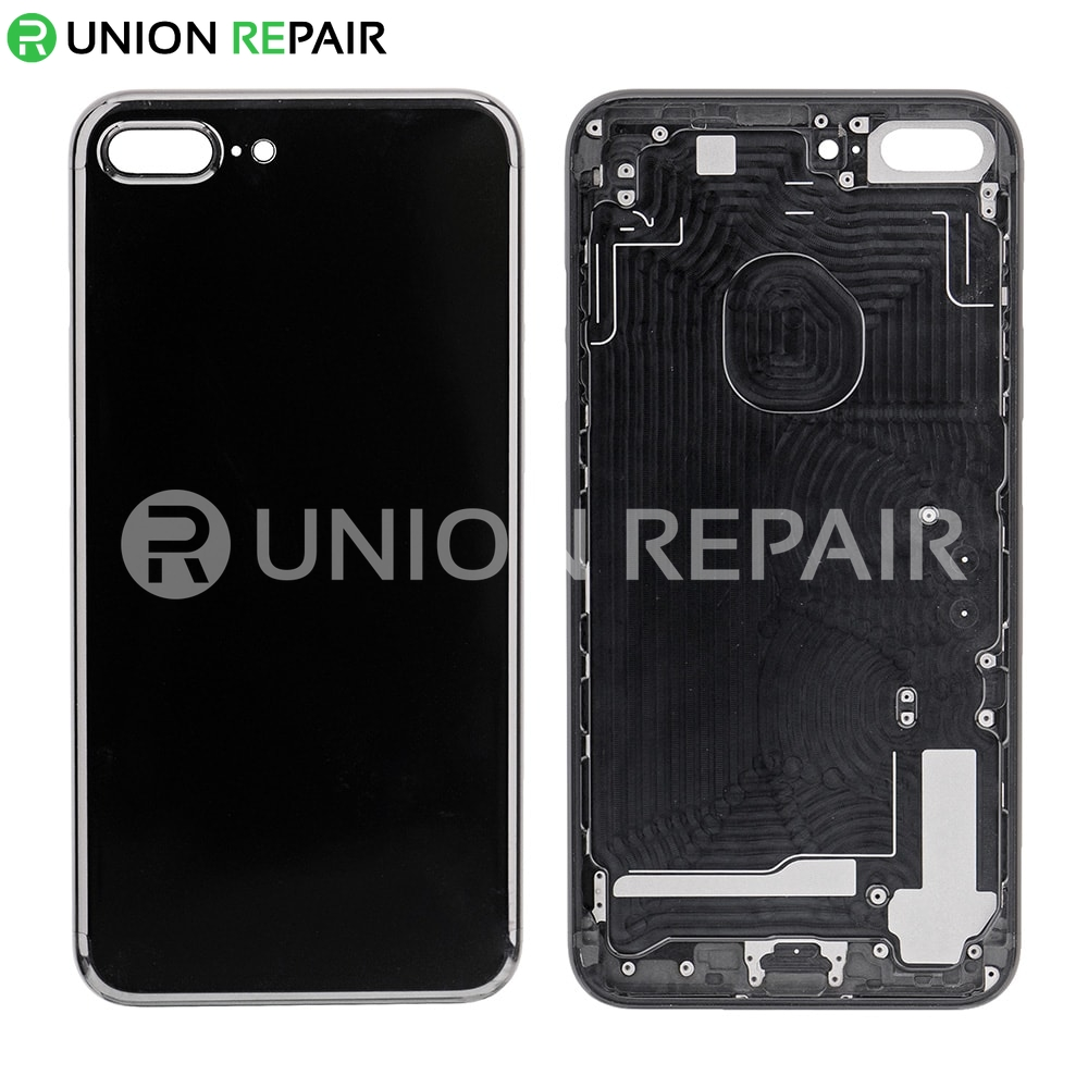 wholesale dealer fdefc f988c Replacement for iPhone 7 Plus Back Cover - Jet Black