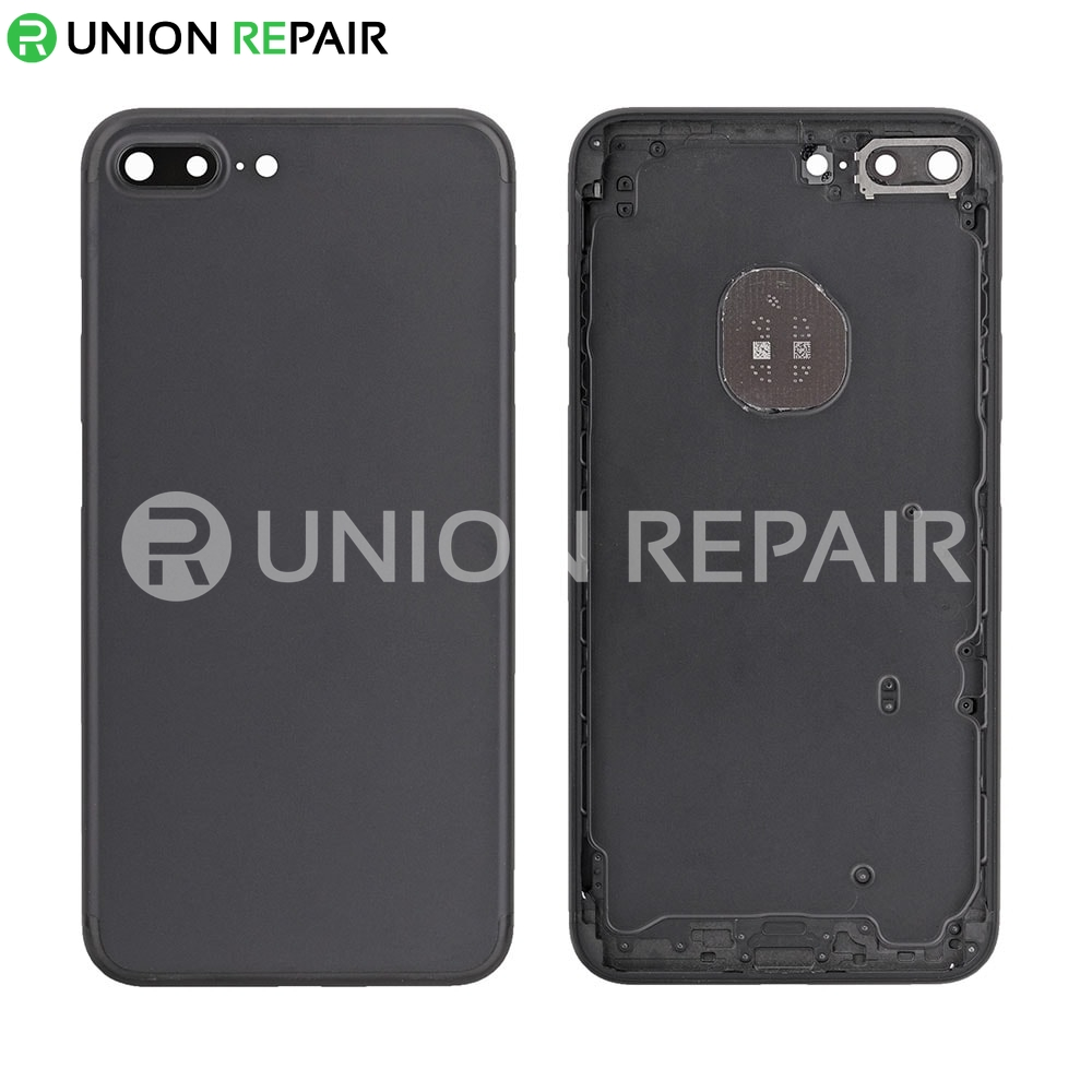 Replacement for iPhone 7 Plus Back Cover - Black