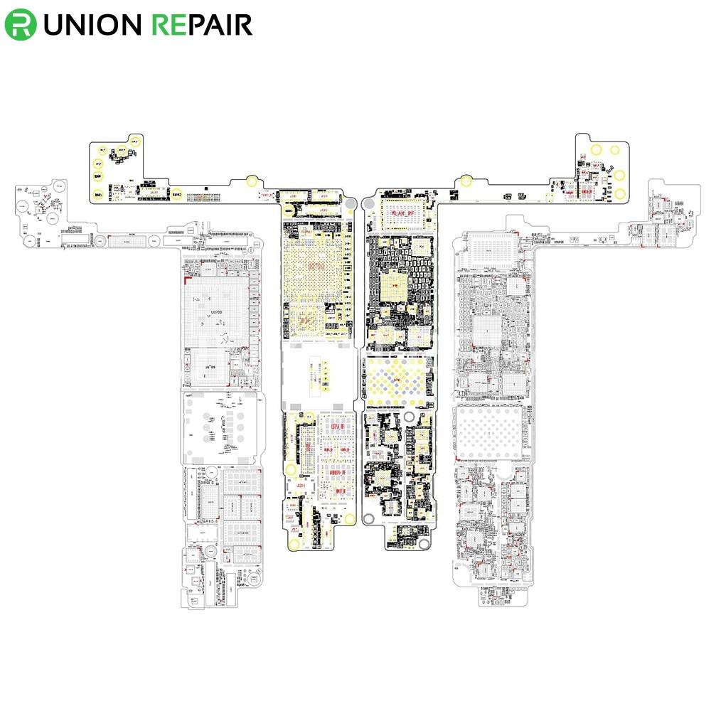 schematic diagram searchable pdf for iphone 7 7 plus rh unionrepair com