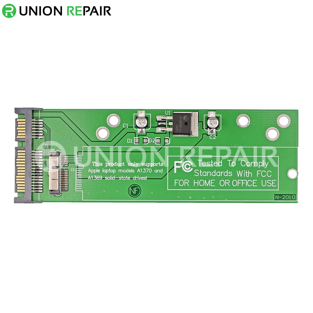 SATA SSD Adapter for MacBook Air A1370 A1369 (Late 2010,Mid 2011)