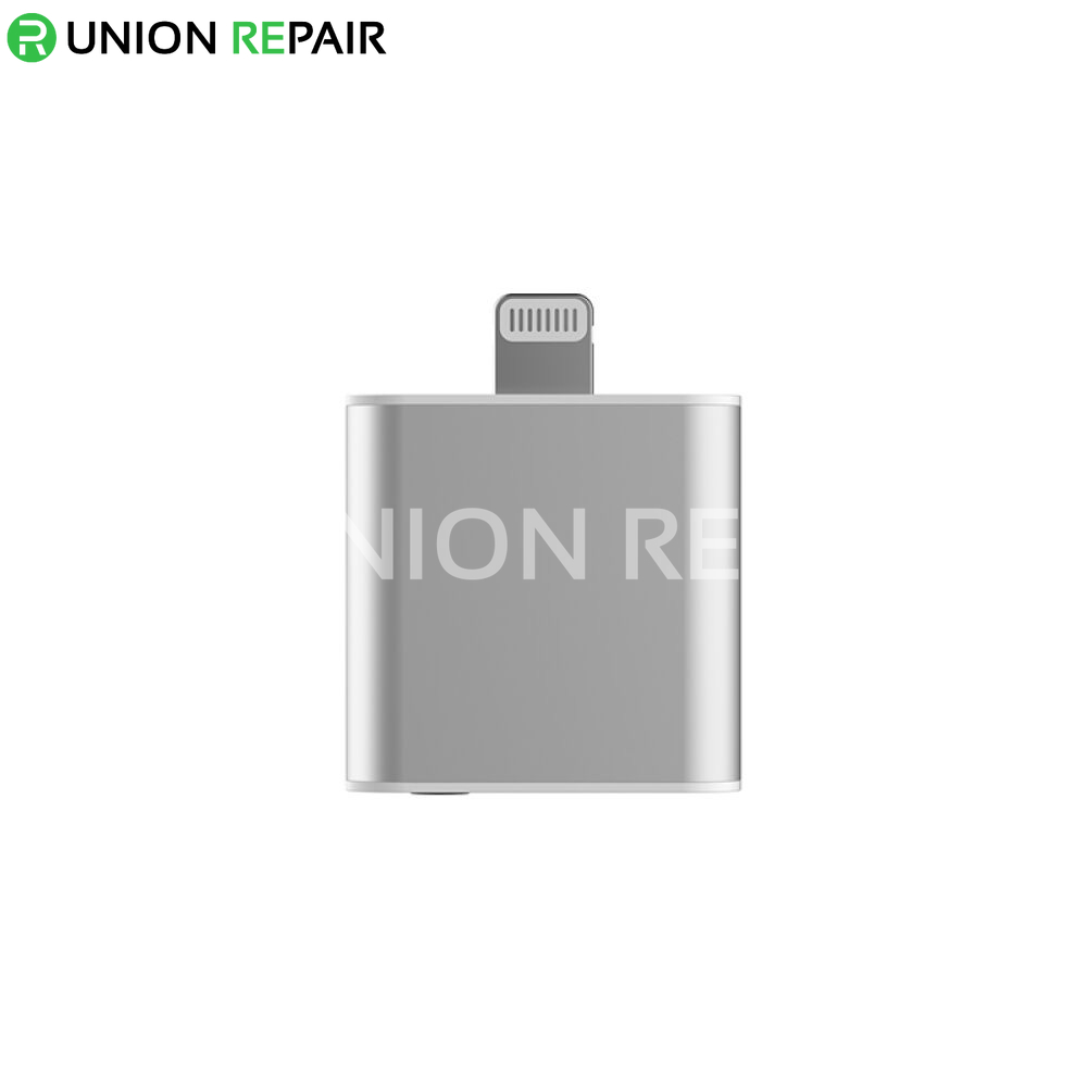 For Apple iPhone 7 Lightning to Audio with Charger Adapter
