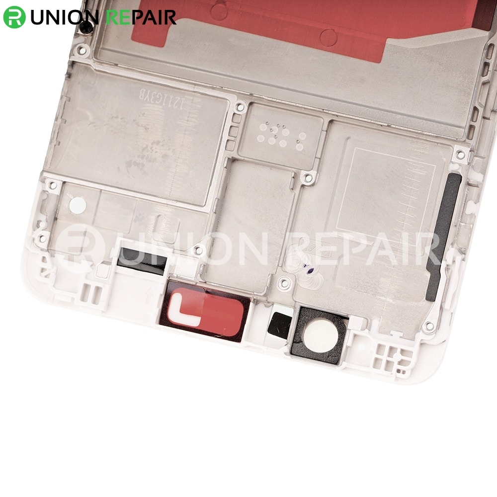 Replacement for Huawei Mate 9 Front Housing LCD Frame Bezel Plate - White