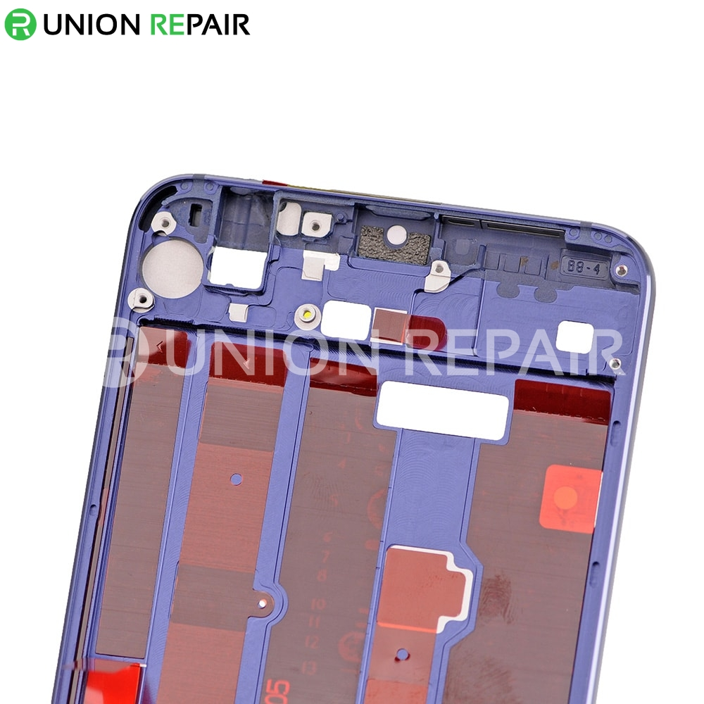 Replacement for Huawei Honor 8 Front Housing LCD Frame Bezel Plate - Blue