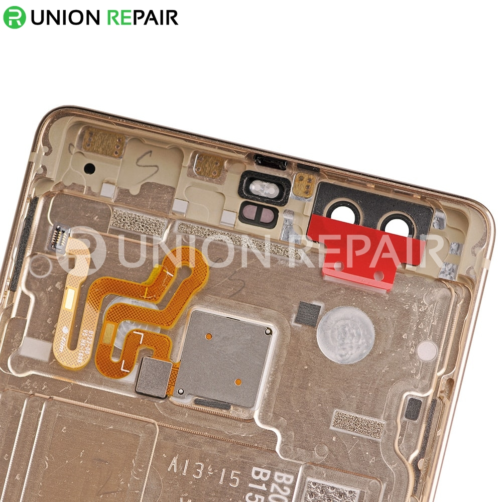 Replacement for Huawei P9 Plus Back Cover with Fingerprint Scanner - Gold