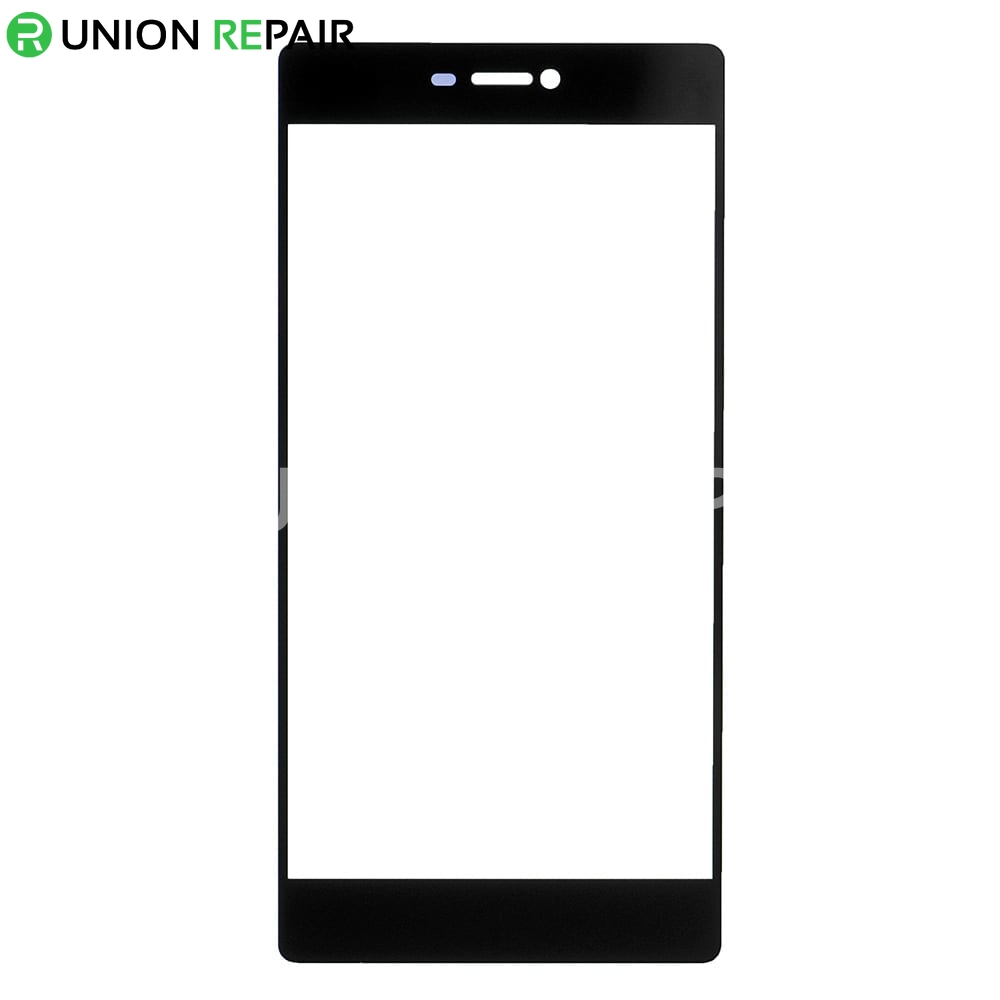 Replacement for Huawei P8 Front Glass Lens - Black