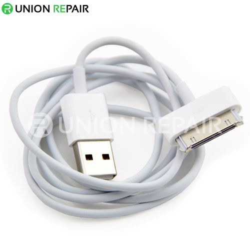 For iPhone 4S Dock Connector to USB Cable