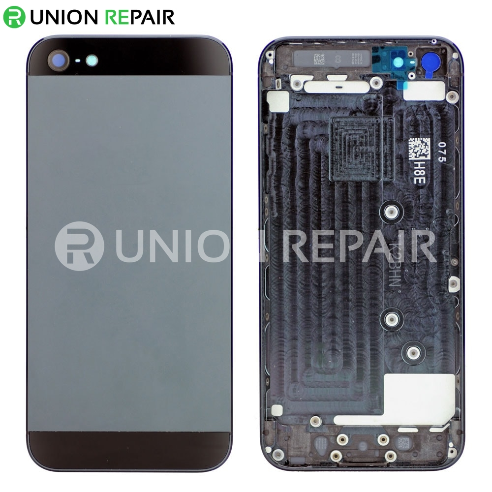finest selection 1b021 16fa0 Replacement for iPhone 5 Back Cover Black