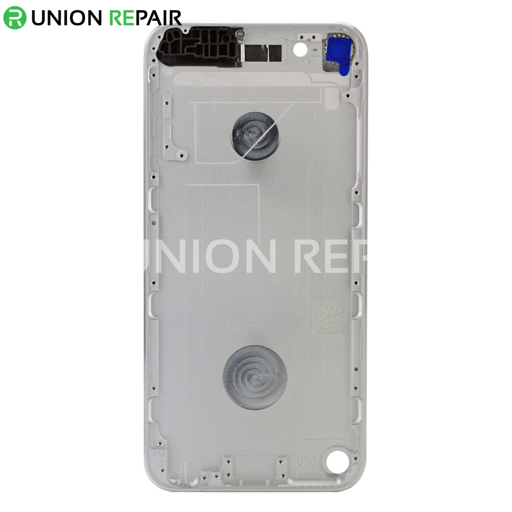 Replacement for iPod Touch 5th Gen Back Cover White & Silver