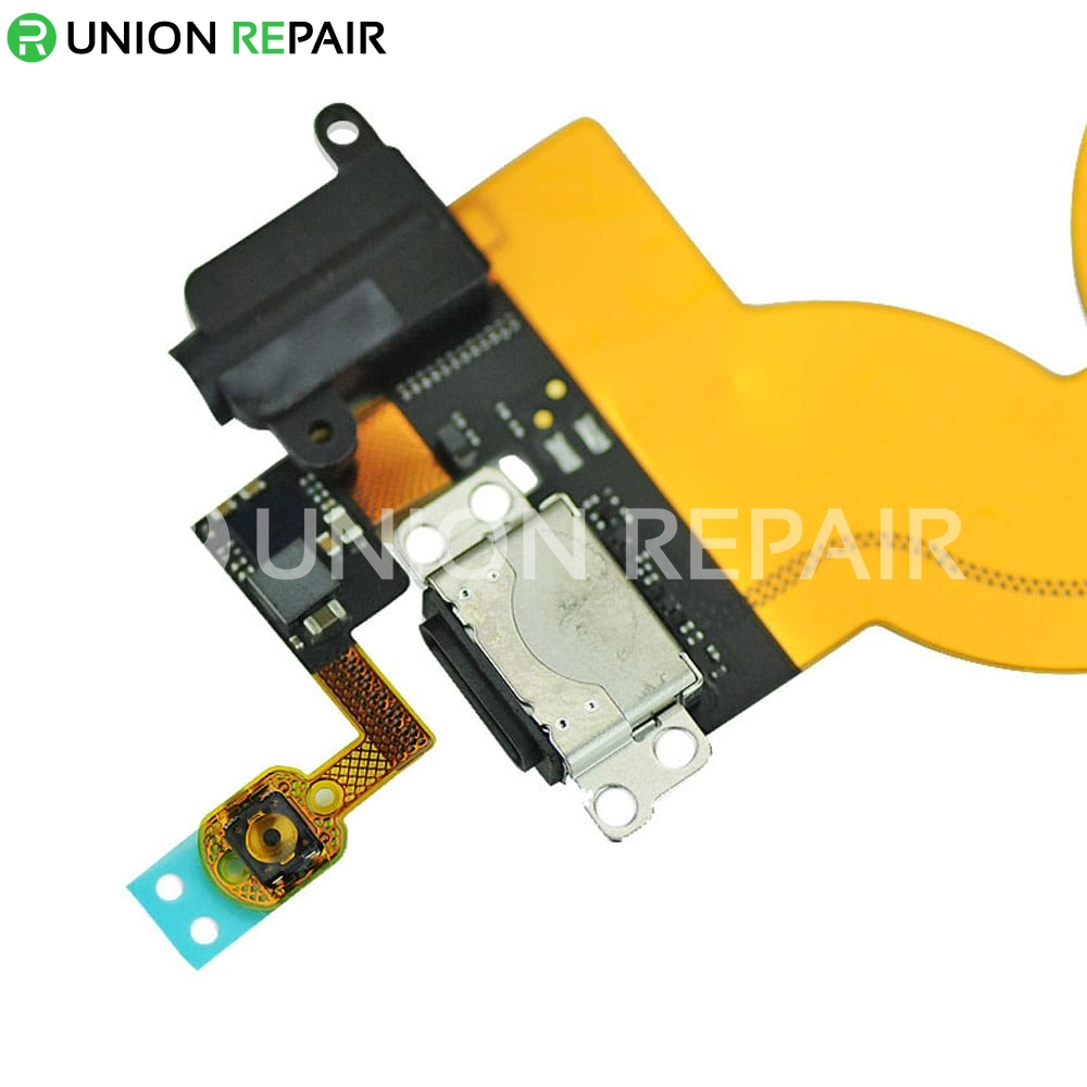 Replacement for iPod Touch 5th Gen USB Charging Connector Flex Cable Black