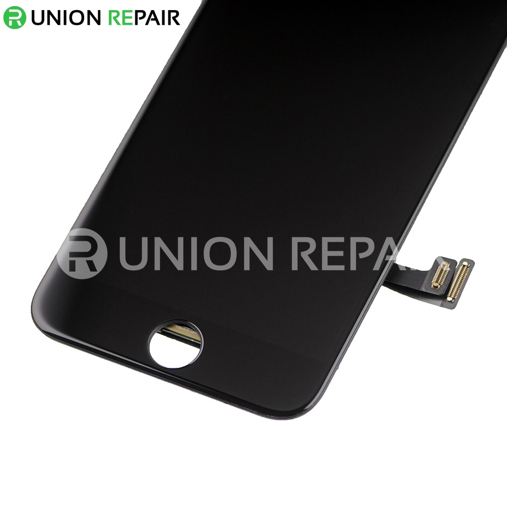 Replacement for iPhone 7 LCD Screen Full Assembly without Home Button - Black