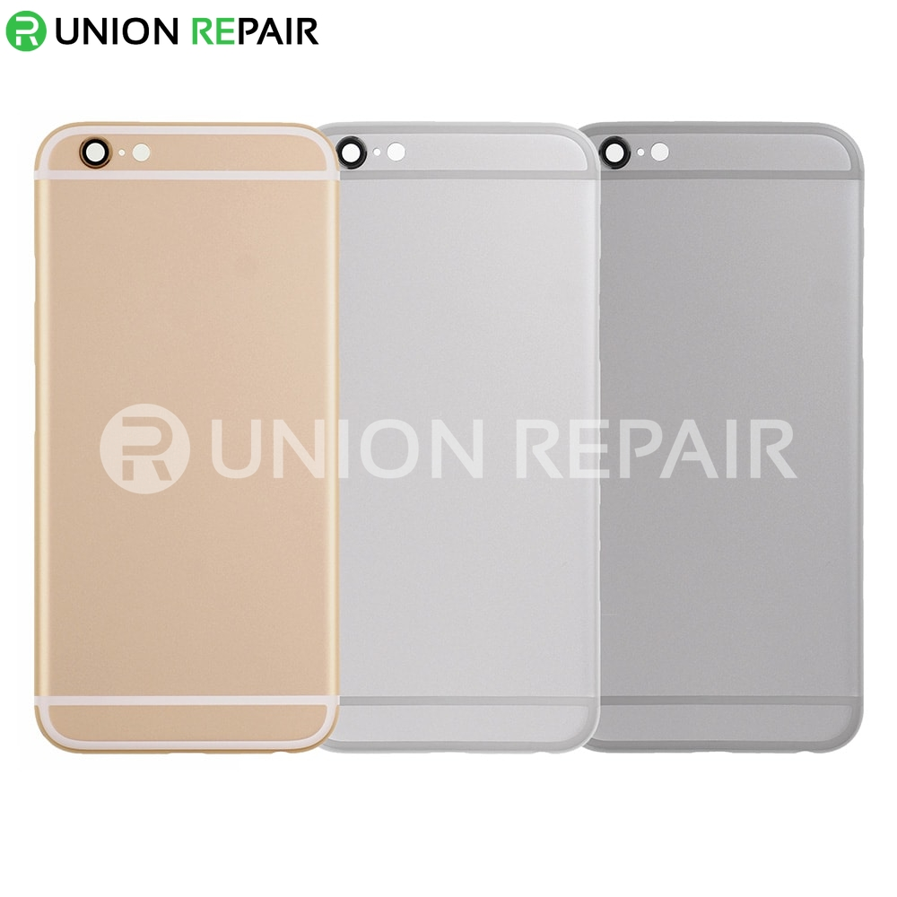competitive price bd890 b82f5 Aftermarket Replacement for iPhone 6 Back Cover without Logo