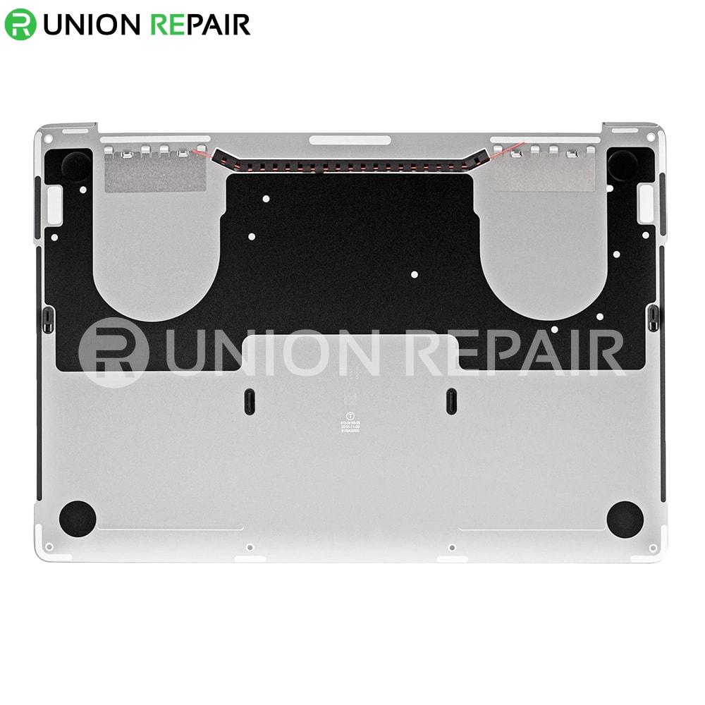 newest 1f057 8f1ca Silver Bottom Case for MacBook Pro Retina 13
