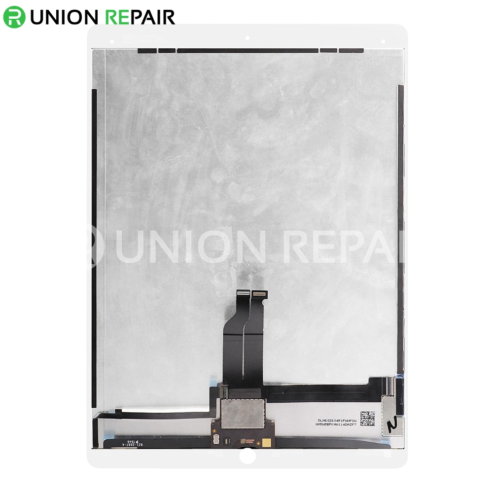 "Replacement for iPad Pro 12.9"" LCD Screen and Digitizer Assembly with Board Flex Soldered Complete - White"