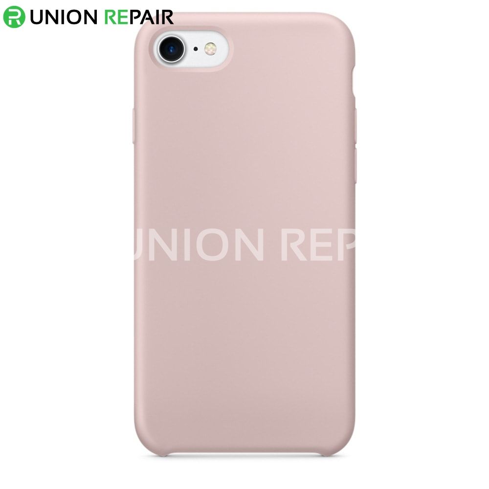 Iphone S Silicone Case Pink Sand