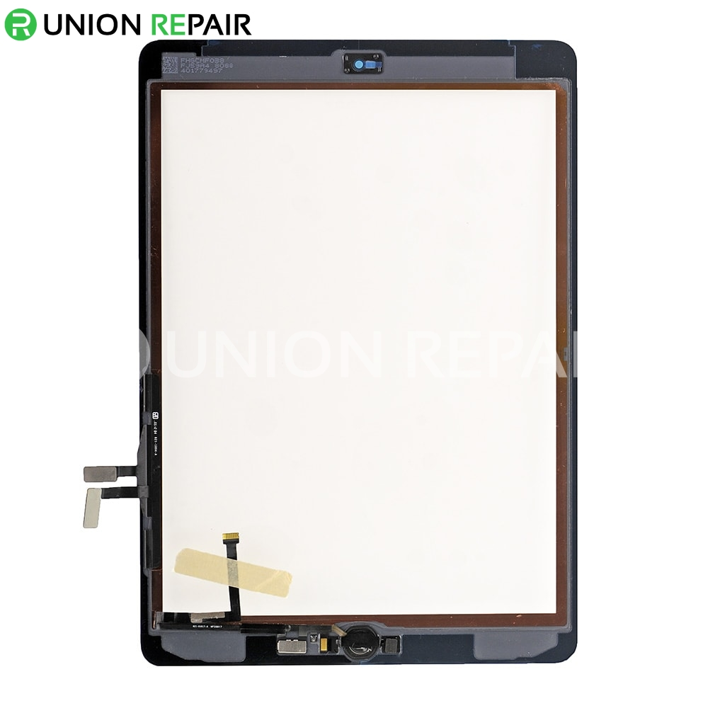 Replacement for 2017 New iPad 5 Touch Screen Assembly With Gold Home Button Assembly - White