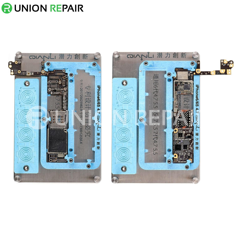 QianLi Universal PCB Holder Set for iPhone 6/6 Plus iPhone 6s/6s Plus iPhone 7/7 Plus (6pcs/set)
