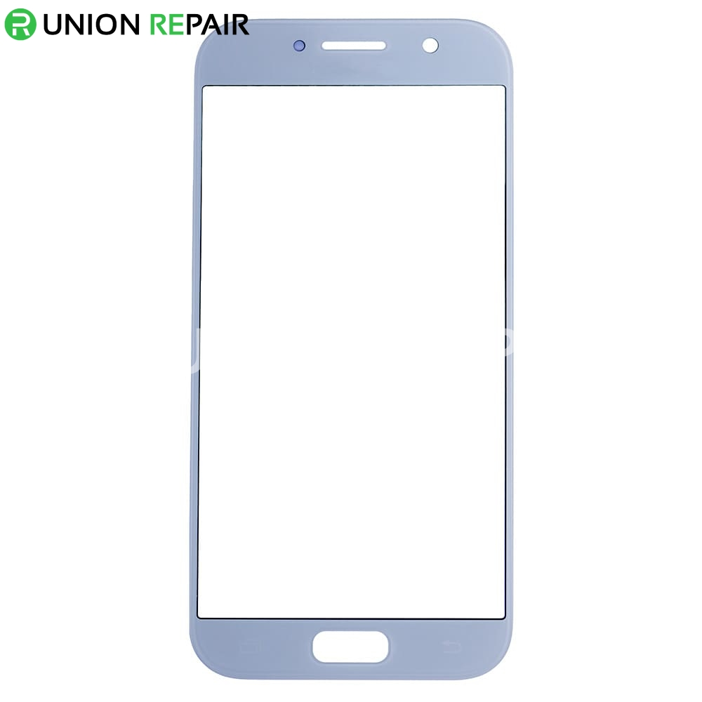 big sale d5387 6ca37 Replacement for Samsung Galaxy A5 (2017) SM-520 Front Glass Lens - Blue