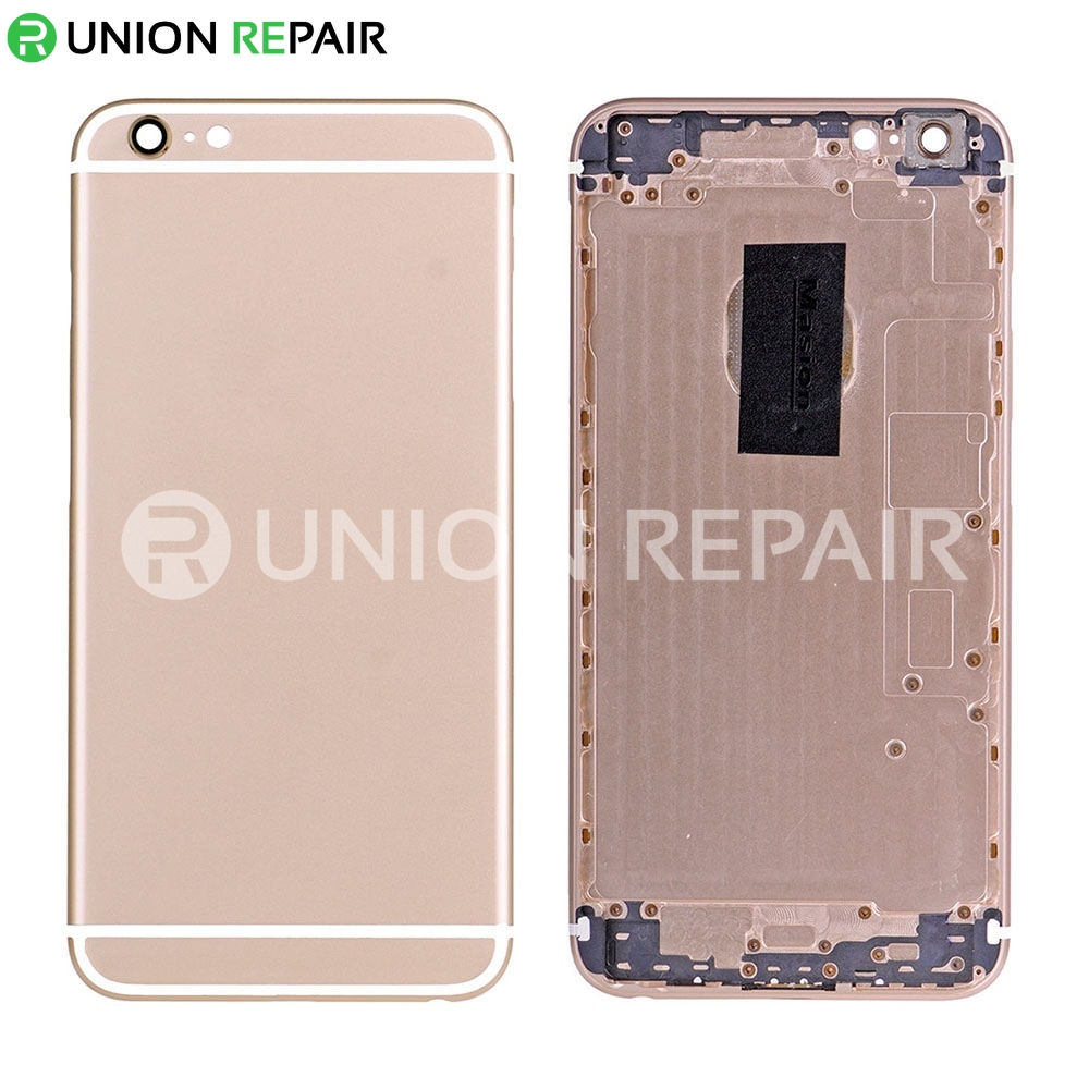 reputable site 4053e 788cc Replacement for iPhone 6S Plus Back Cover Gold