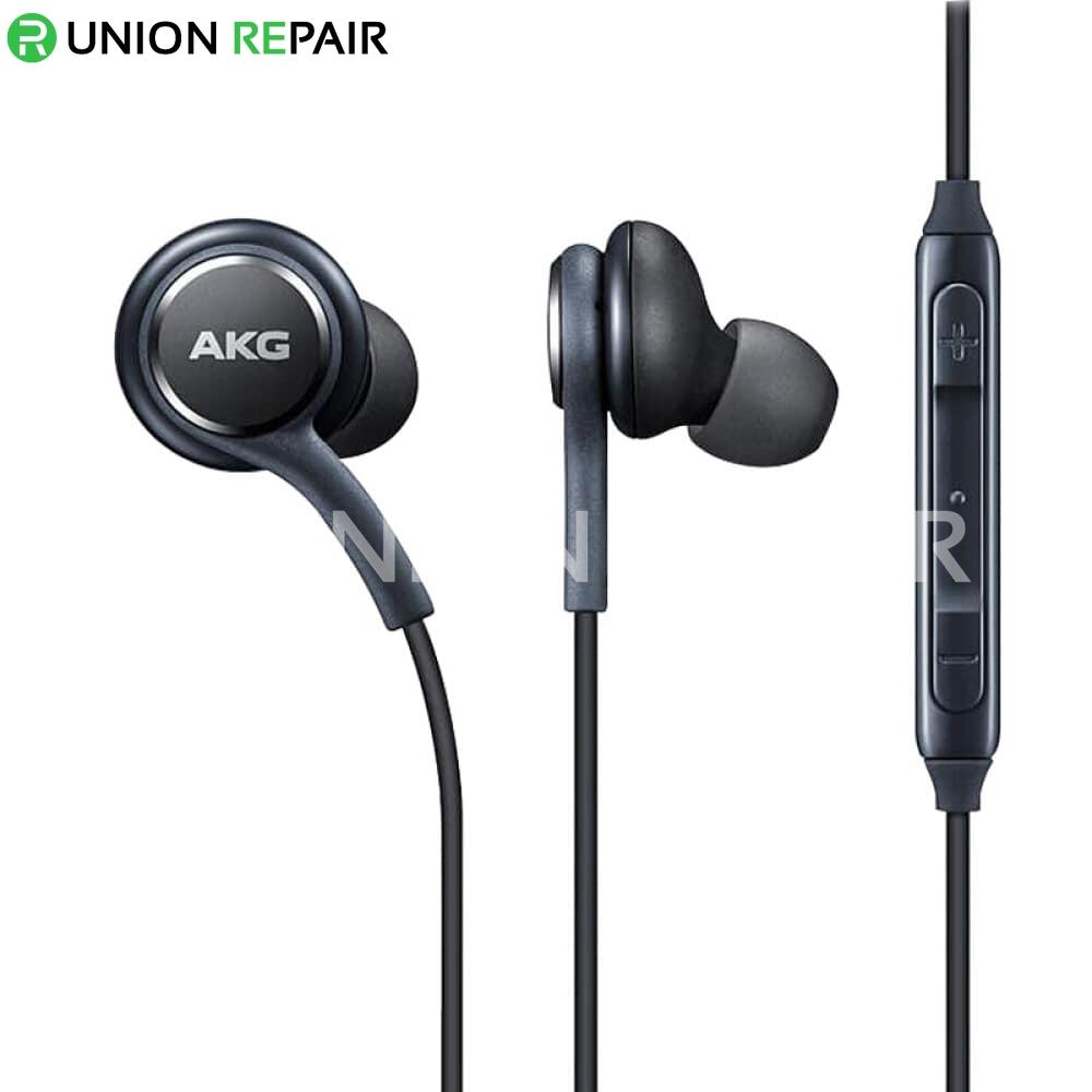 genuine black akg earphones headphones for samsung galaxy