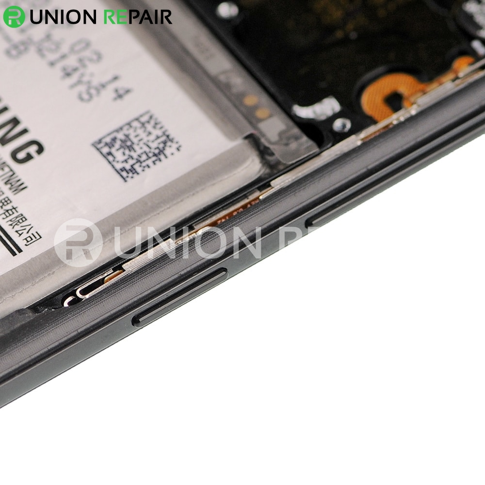 Replacement for Samsung Galaxy S8 SM-G950 LCD Screen Assembly with Frame - Black