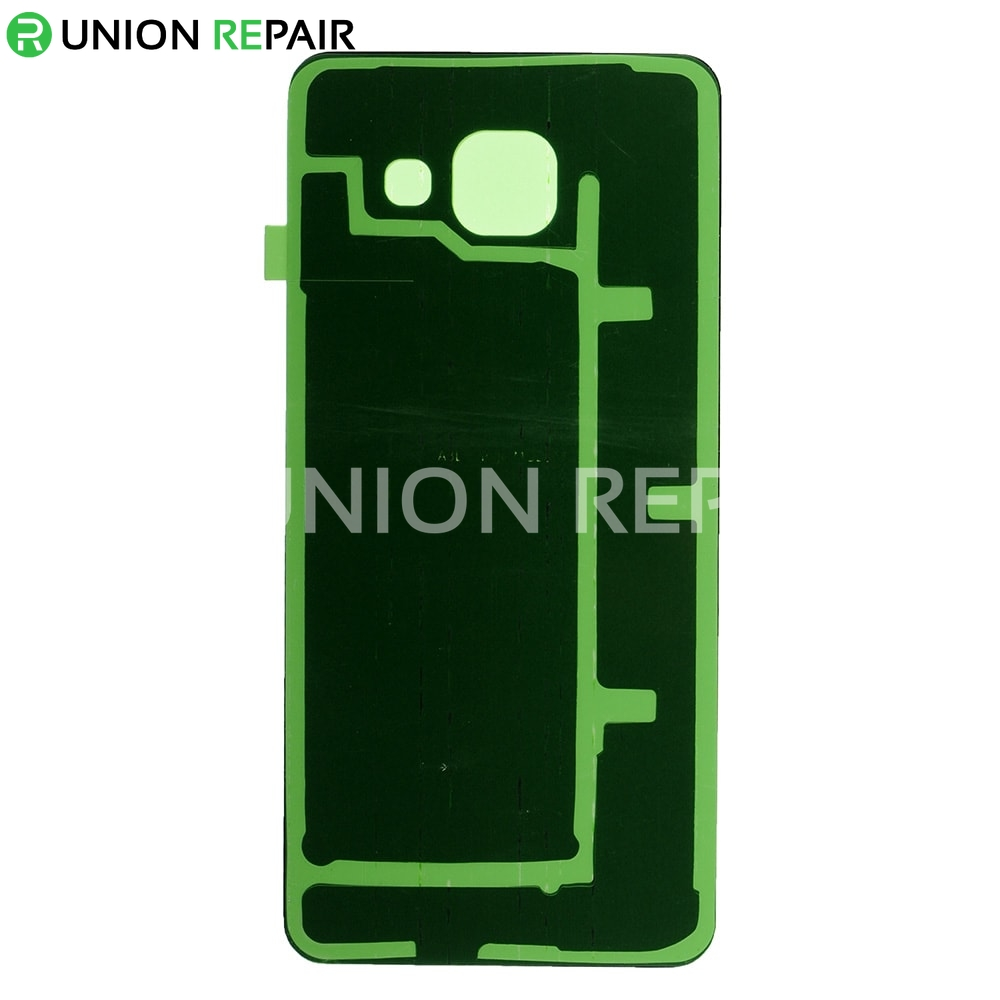 replacement for samsung galaxy a3 2016 sm 310 battery door with adhesive white. Black Bedroom Furniture Sets. Home Design Ideas
