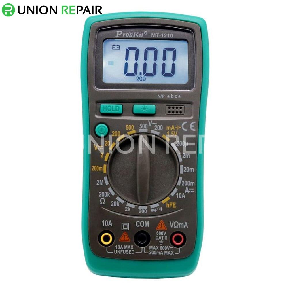 Pro'skit MT-1210 3 1/2 Compact Digital Multimeter