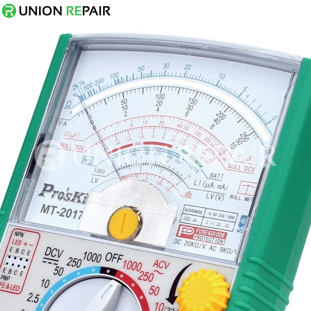 Pro'skit MT-2017 Protective Function Analog Multimeter