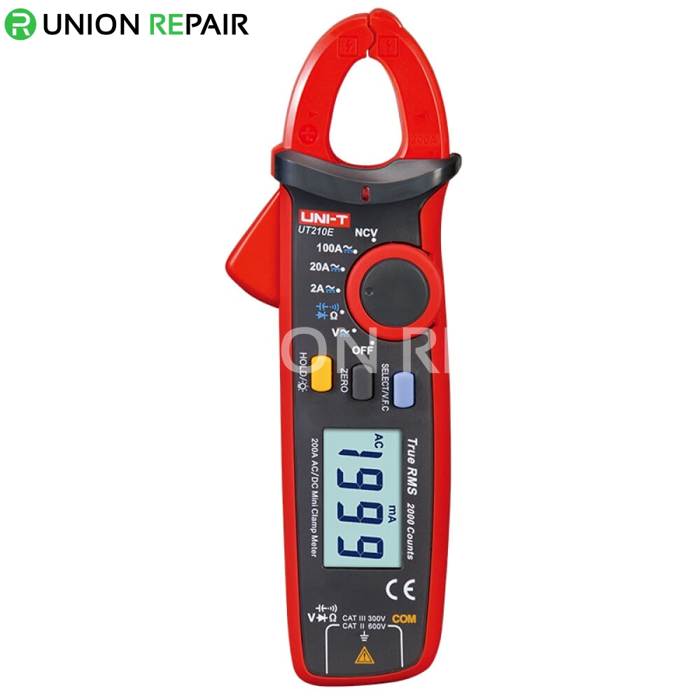 Mini Clamp Meters : Ut e mini clamp meters