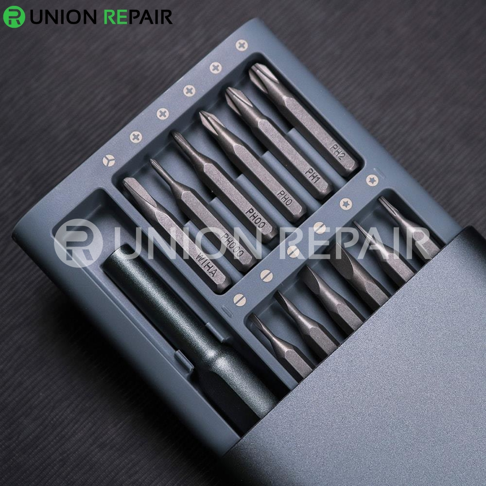 Xiaomi Mijia Wiha Screwdriver Kit 24 in 1 Precision Magnetic Bits - GRAY