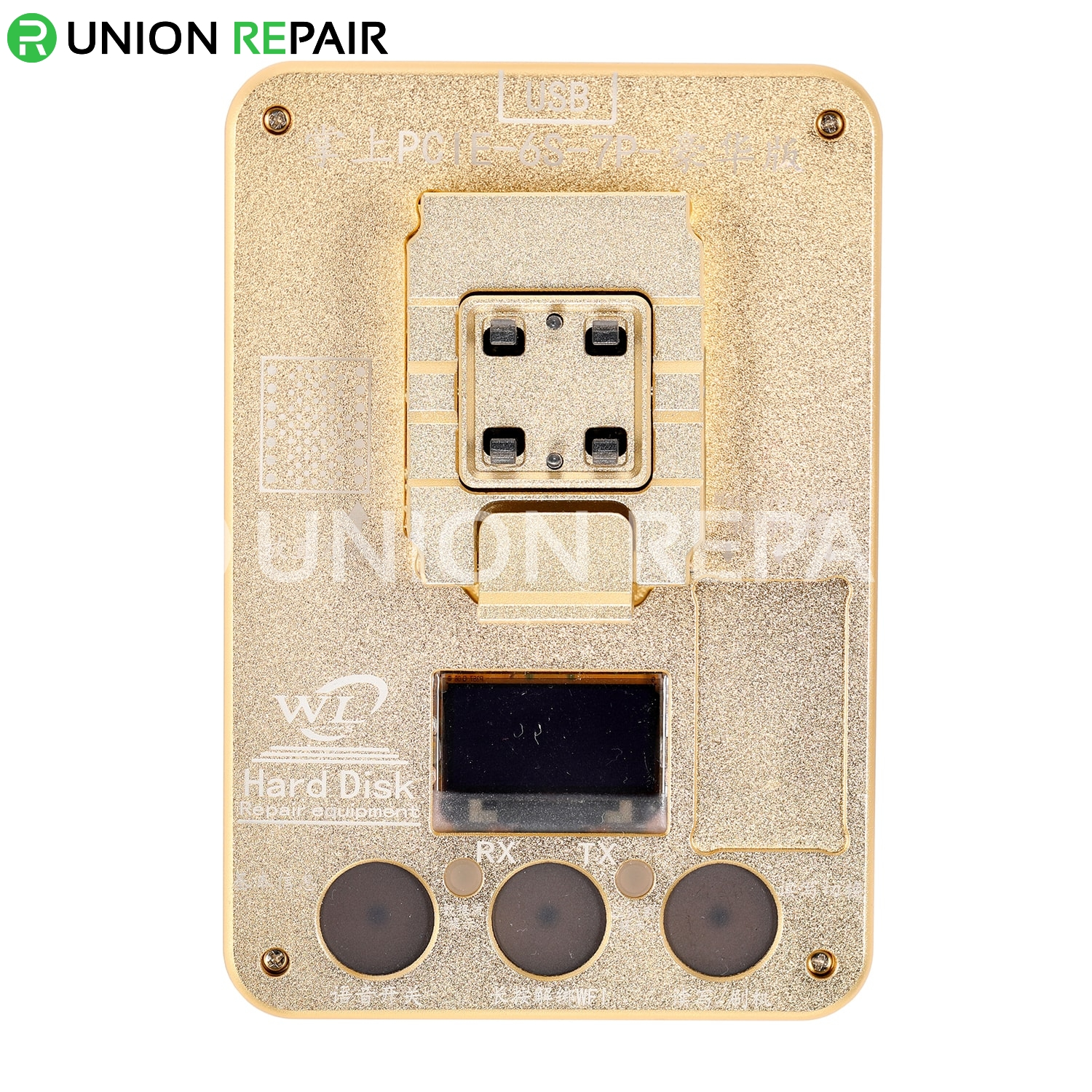 WL PCIE NAND Flash IC Programmer/NAND Test Fixture for iPhone 6S-7P