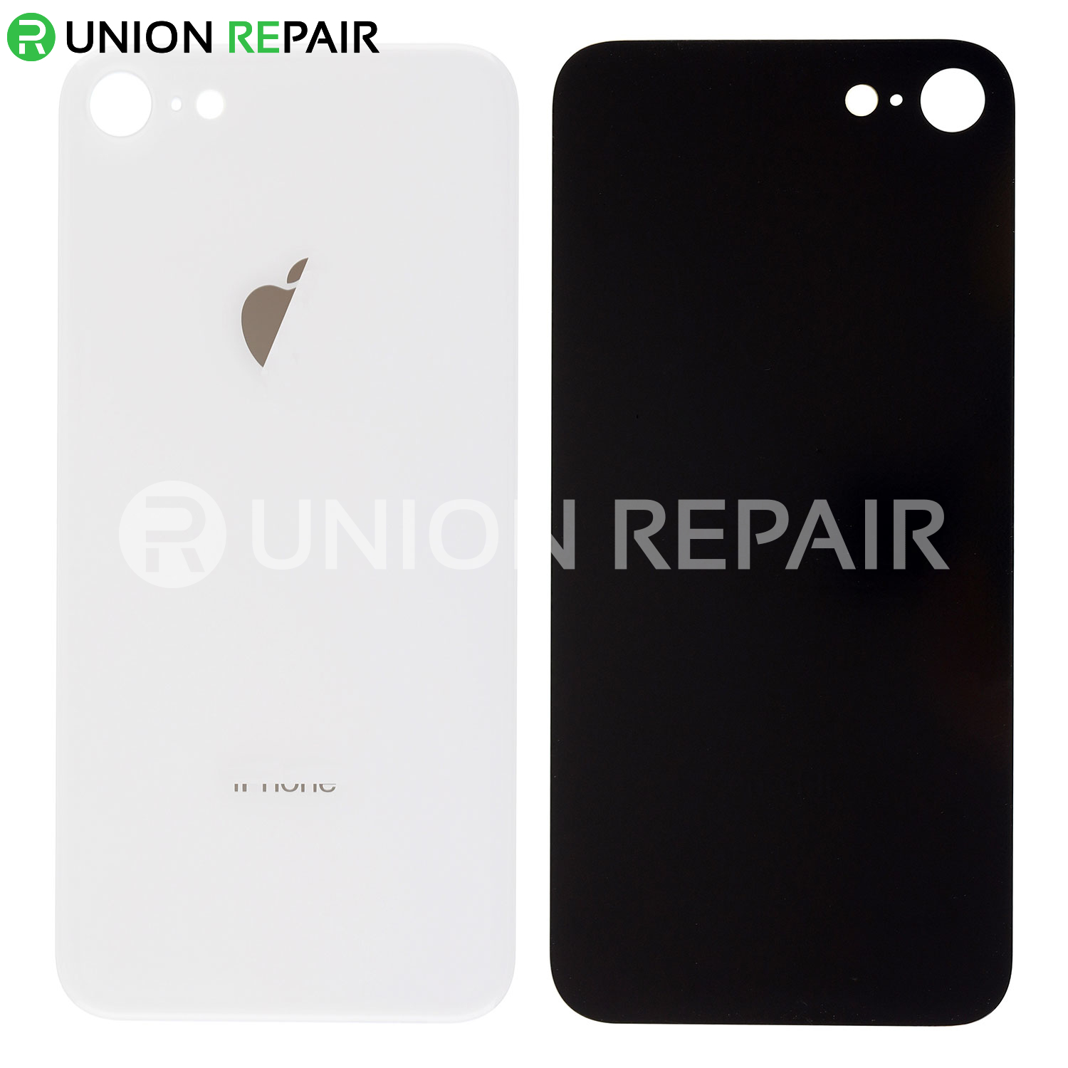 quality design 8dc1f c1f5f Replacement for iPhone 8 Back Cover - Silver
