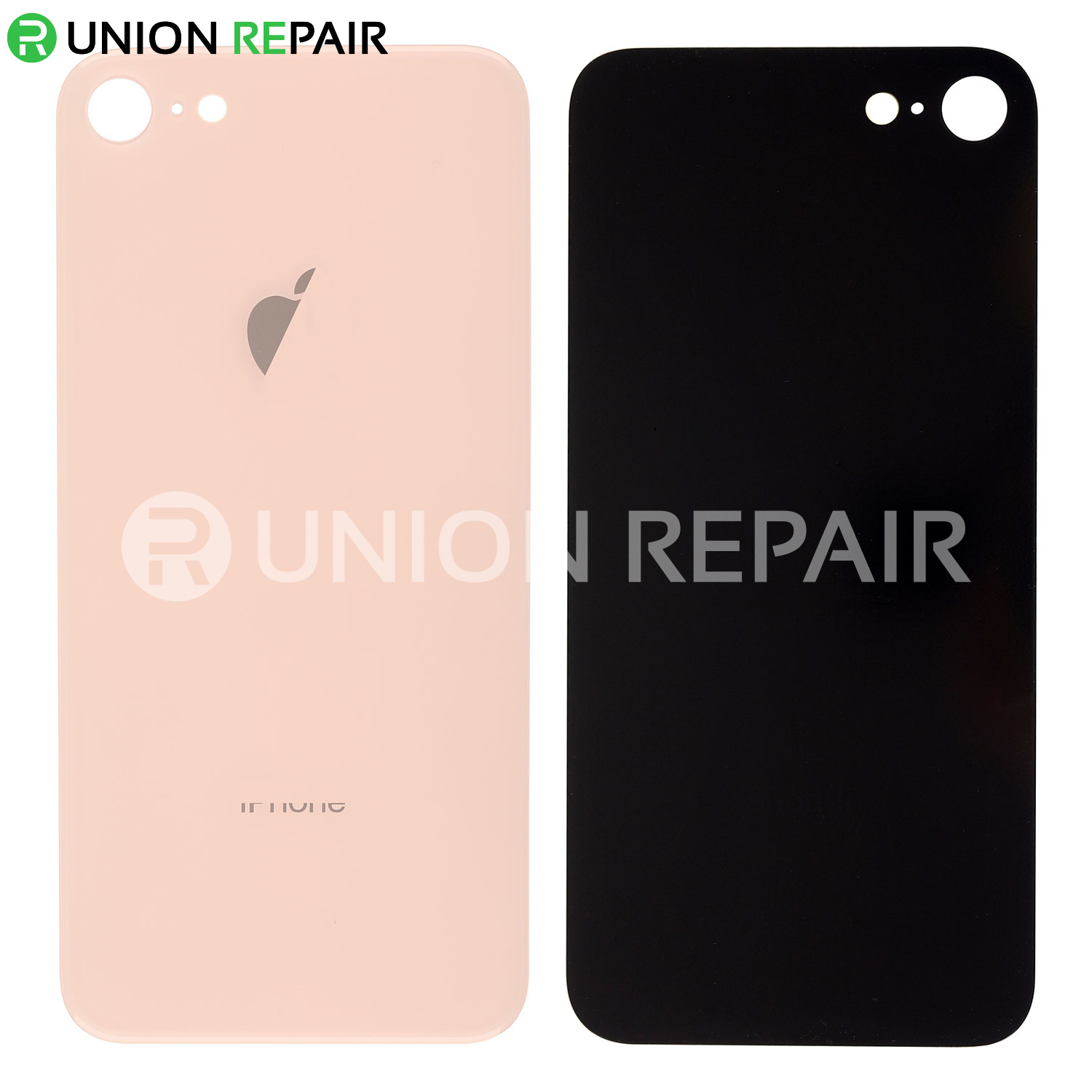 San Francisco d8ed9 4a73a Replacement for iPhone 8 Back Cover - Gold