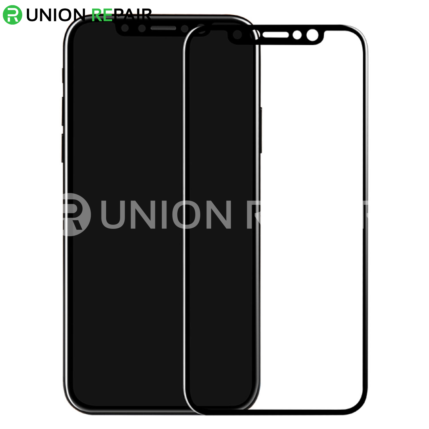 5D Black Explosion-Proof Tempered Glass Film for iPhone X/XS/11Pro