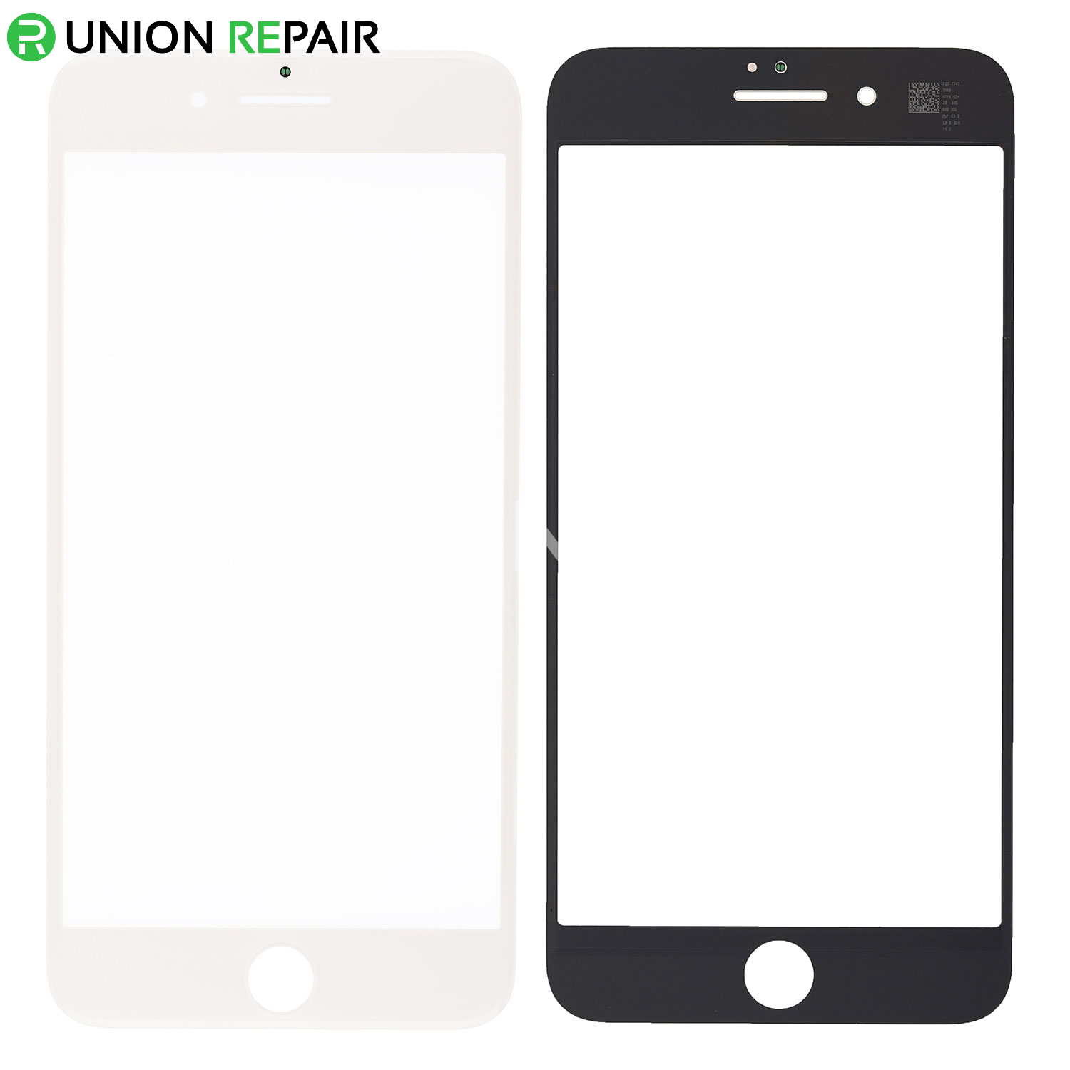 Glass Only White Lens for Apple iPhone 6 Plus CDMA /& GSM with Glue Card