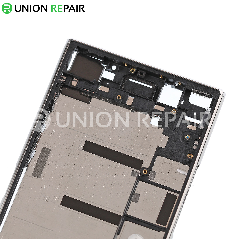 Replacement for Sony Xperia XZ Premium Middle Frame - Luminous Chrome