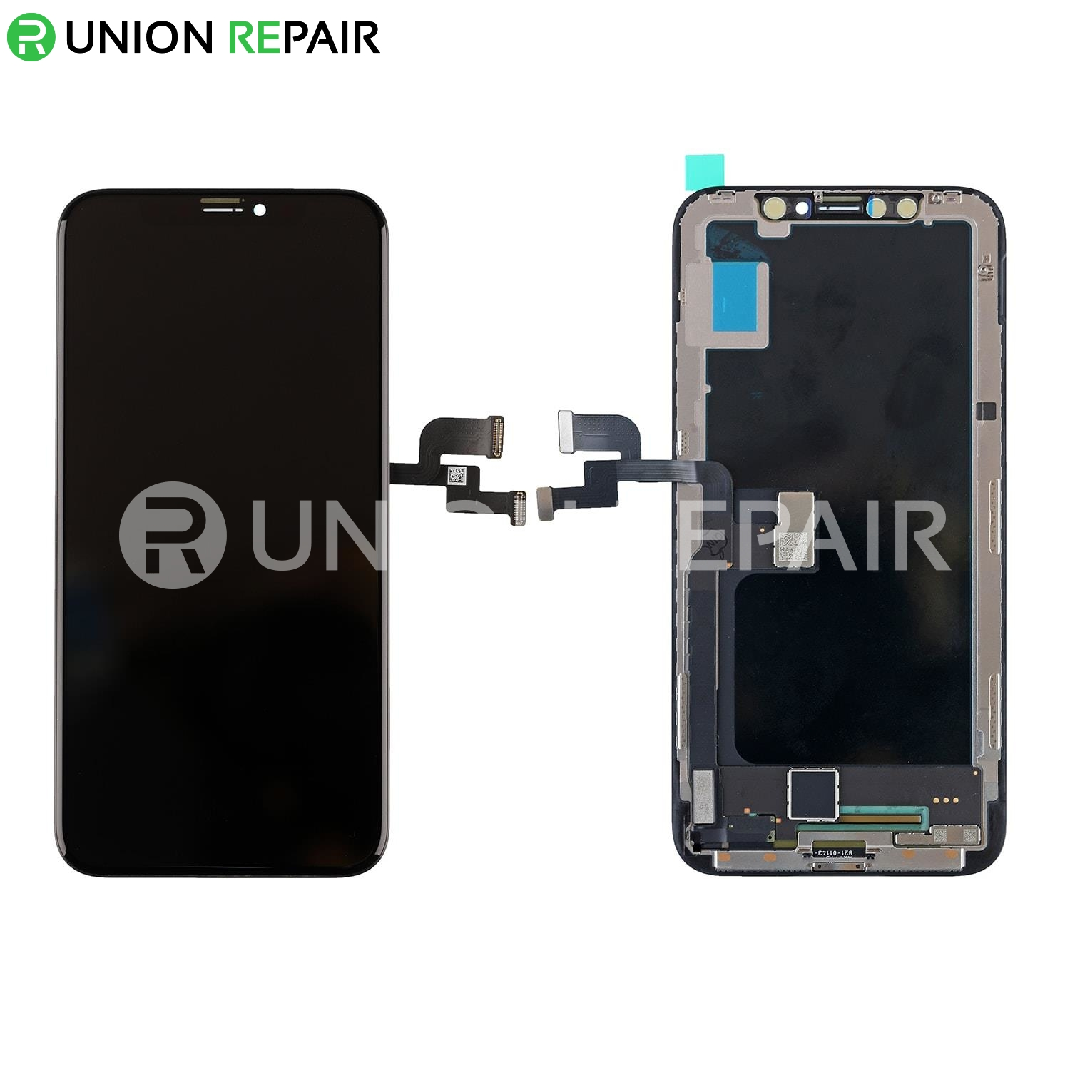 online retailer 76636 9fb6e Replacement For iPhone X OLED Screen Digitizer Assembly - Black