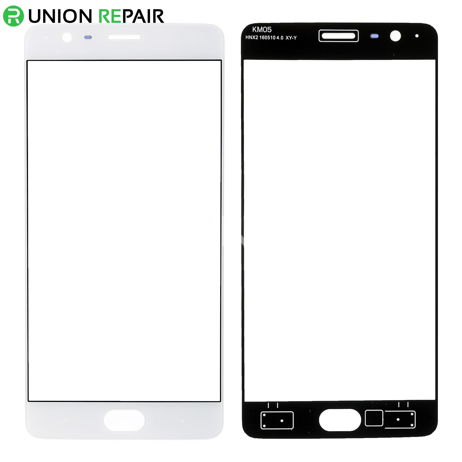 for OnePlus 3 Front Glass Lens - White