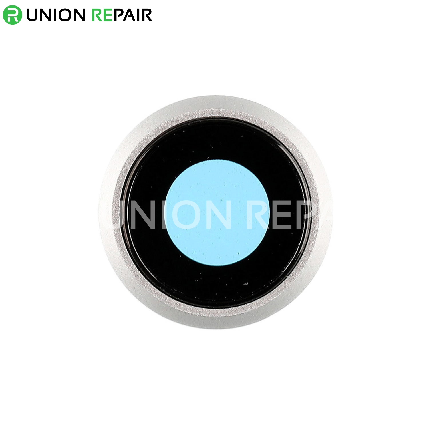 discount sale 9892c a4182 Replacement for iPhone 8 Rear Camera Holder with Lens - Silver