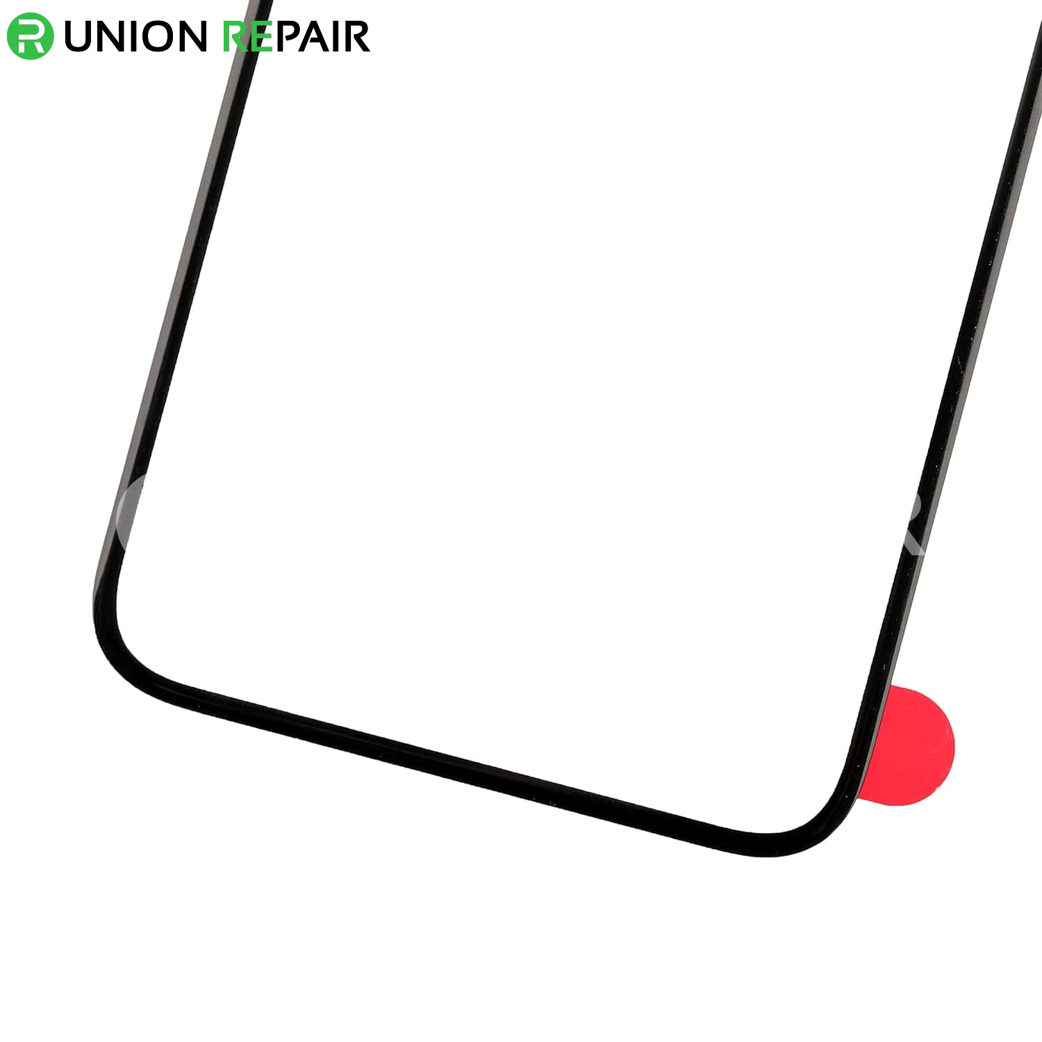 Replacement for iPhone X Front Glass Lens - Black