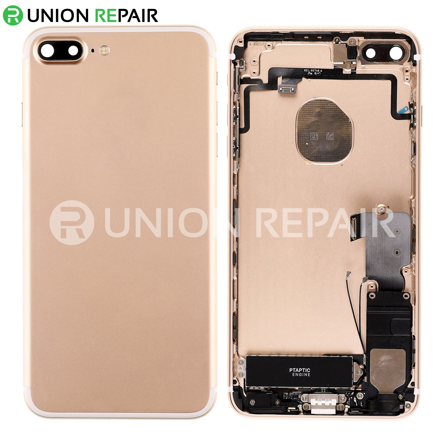 sneakers for cheap 05ca7 9ccd7 Replacement for iPhone 7 Plus Back Cover Full Assembly - Gold