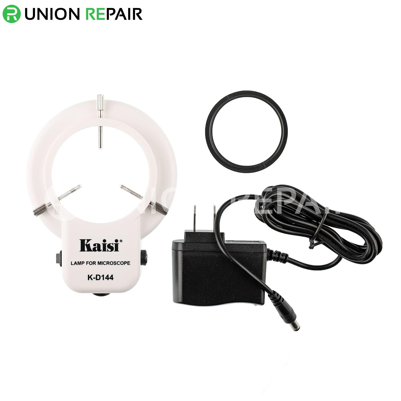 Kaisi K-D144 Annular Adjustable Ring LED Lamp For Microscope
