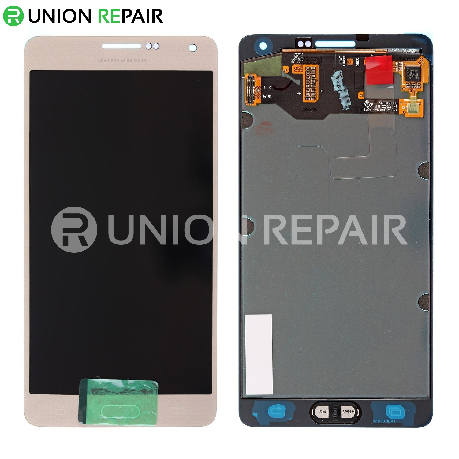 replacement for samsung galaxy a7 2015 sm a700 lcd screen with digitizer assembly gold 1 t=