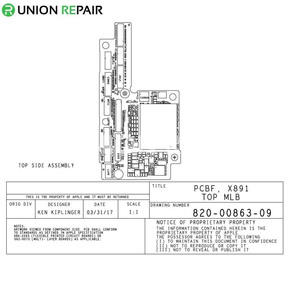 qualcomm version schematic diagram searchable pdf for iphone x rh unionrepair com apple 1 computer circuit diagram apple 1 schematic diagram