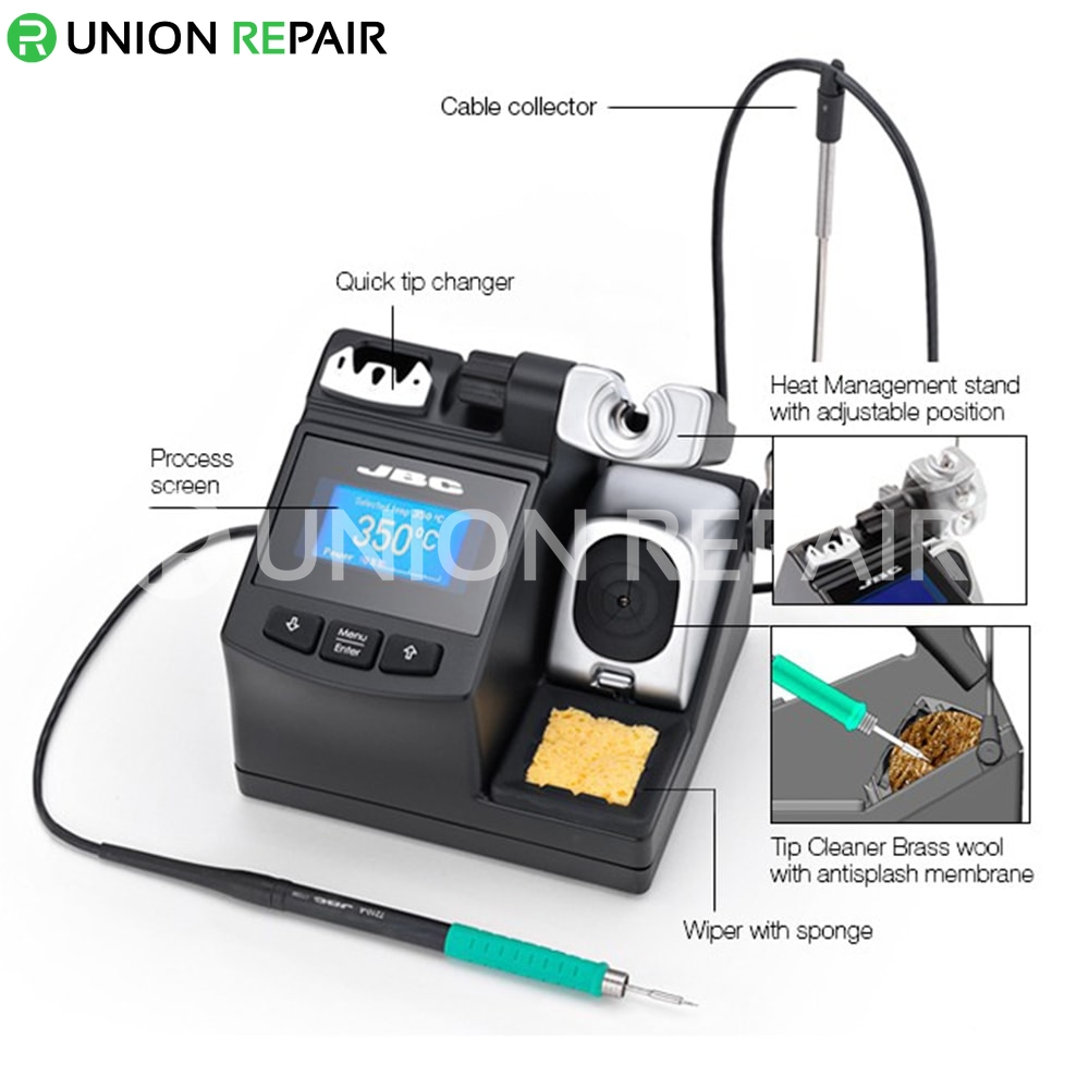 JBC CD-2SHE with T210-A Handle Precision Soldering Station