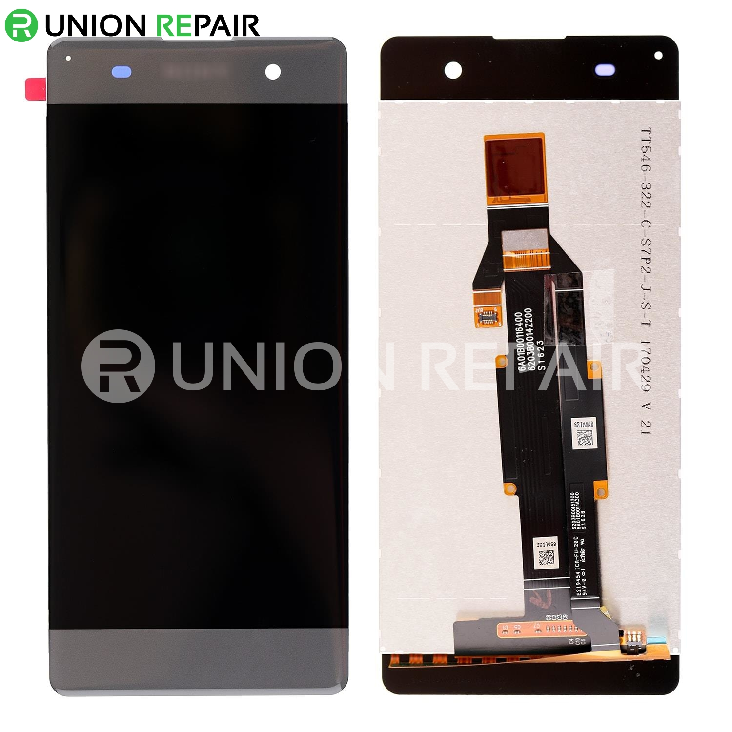 Smartillumi for Spare Part LCD Screen and Digitizer Full Assembly for Sony Xperia XZs Color : Black Black