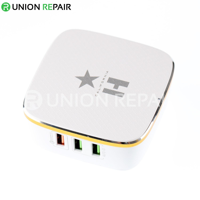 HOUSE HC-EC01Q 6-Port USB Auto-ID Compatible Desktop Charger